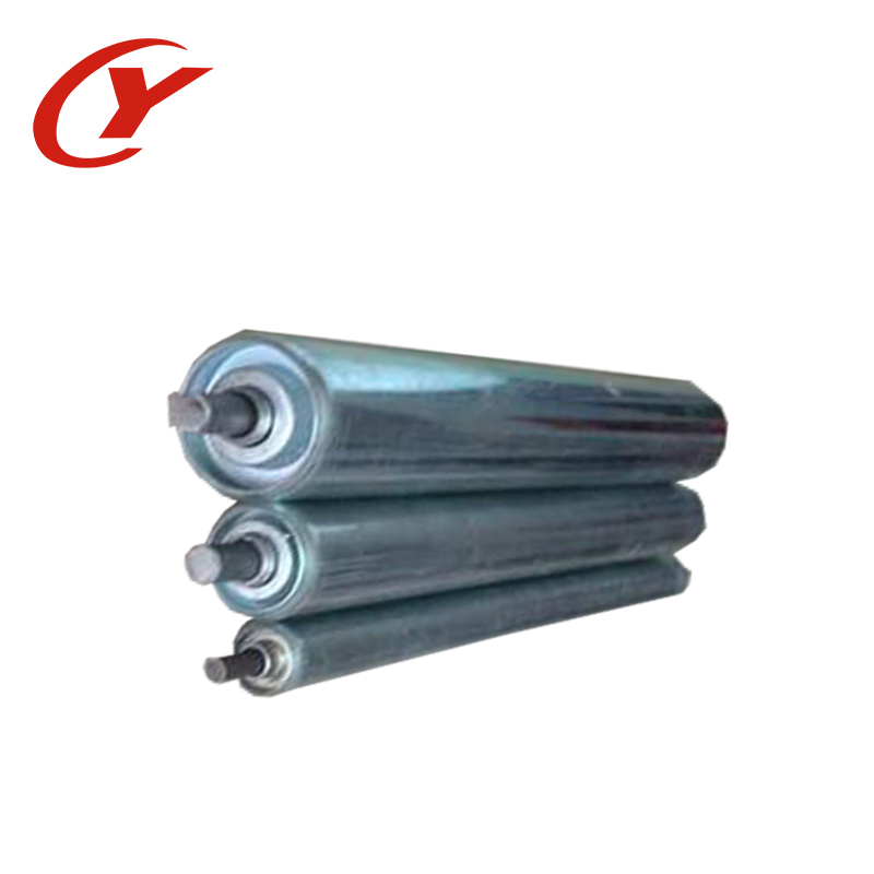 Pulley/head belt conveyor rubber coated drive pulley