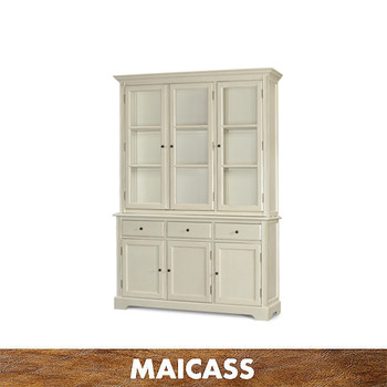 Country style newest white wine cabinet