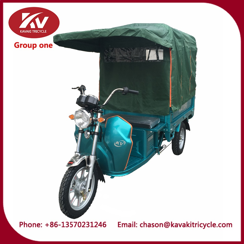 China suppliers 3 wheel motorcycle with roof bicycle canopy