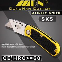 Assist newest utility knife stainless steel folding knife with hook