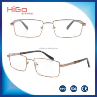 Cheap eyewear stainless steel metal optical frame guess eyeglasses Italy designer