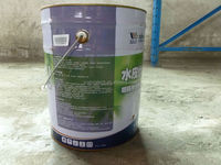 water based polyurethane waterproof coating green wall building materials