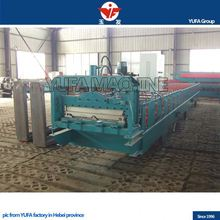Steel structure floor plastic making machines