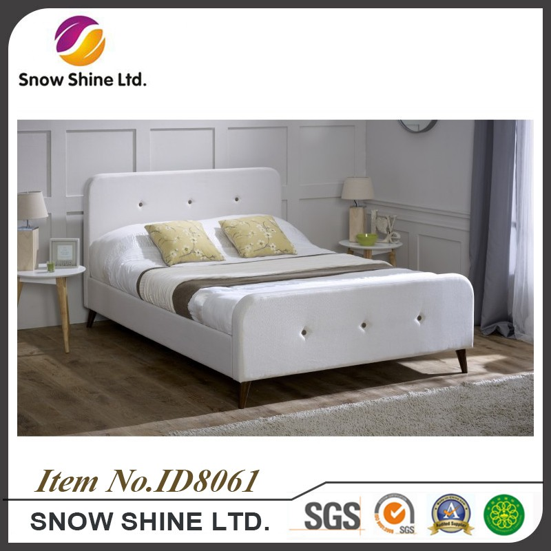ID8061 modern fabric bed teak wood beds models designer beds prices in india