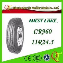 China famous brand tire manufacturing high quality West Lake tire 11r24.5 westlake truck tire