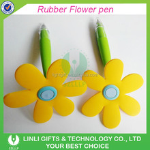 Logo-customized Plastic Sunflower Ball Pen