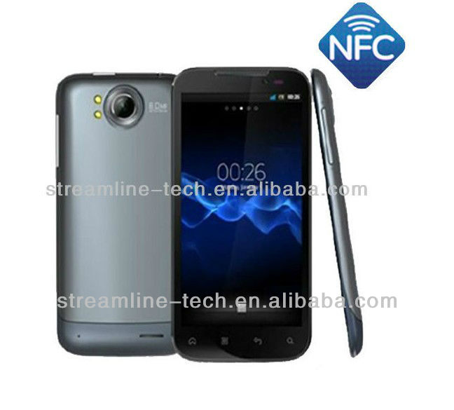 5.3inch MTK6577 dual core 960x640 Android 4.1 NFC mobile