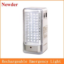 Rechargeable portable LED emergency lamp