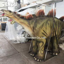 Adult walking controlling dino costume