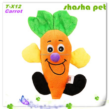 Carrot plush squeaker pet toy,pet product,dog toy,top selling products 2015