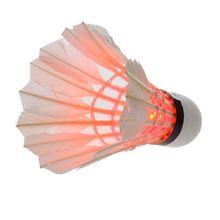 New Outdoor Sports Dark Night 4 Pcs Colorful LED Badminton Feather Shuttlecock Shuttlecocks