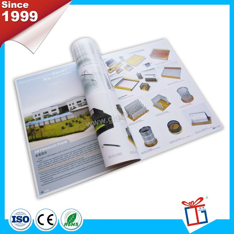 Most popular super custom brochure catalogs printing