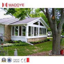 Beautiful design aluminum clear glass garden sunroom