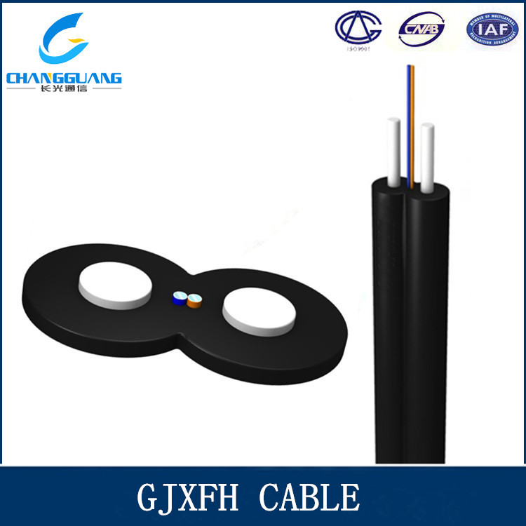 GJXFH high quality indoor drop flame retardant fiber optic cable