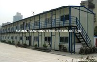 Double-Layered Steel Prefabricated Houses