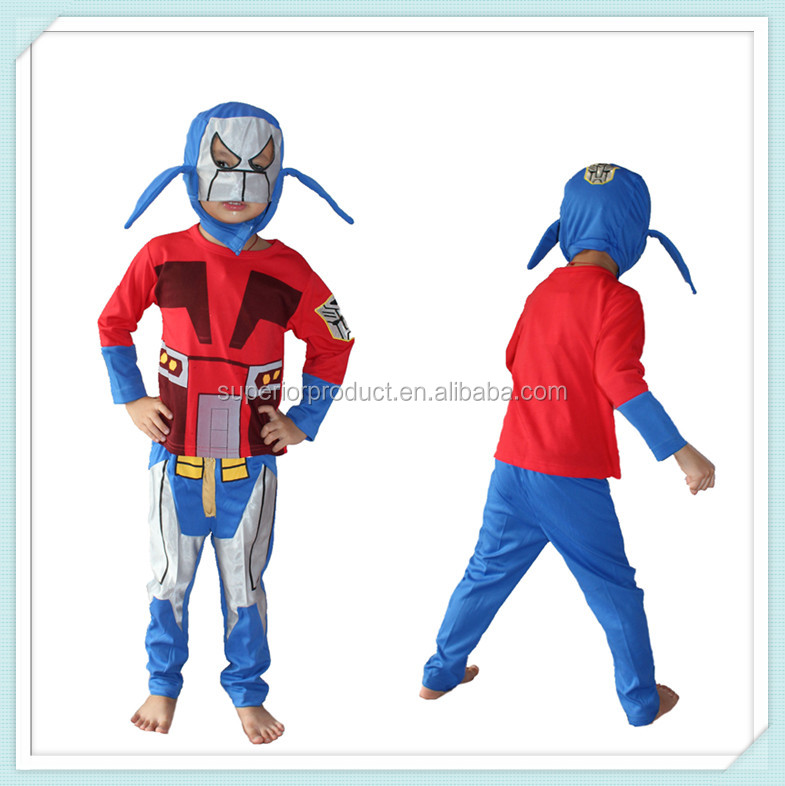 Optimus and bumblebee transformer costume to boy unique transformers halloween costumes for children cosplay costume