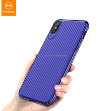 Mcdodo Mobile Accessories Hard Suitcase Phone Case Cover for iPhone X