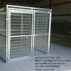 "Outdoor application hot dip galvanized 2""x4"" opening dog kennels"