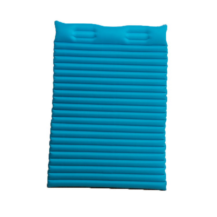 Waterproof PVC Material healthy inflatable air bed mattress