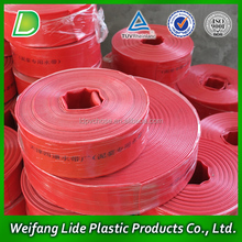 Water flow PVC pipe lay flat hose