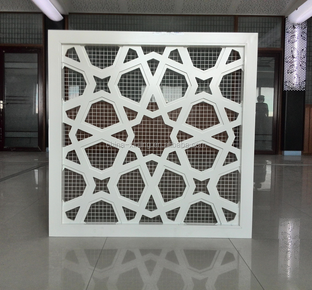 CNC perforated aluminum screen for decoration