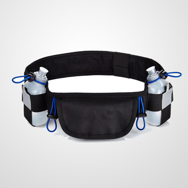 Fancy running hydration belt with 2 Water Bottles Holders for men and women runners for workout runningexcercise