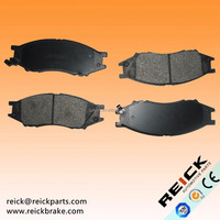 Japanese car Brake Pad D1193 D1193-8311 MK D1233 For NISAN Cube AD Van Bluebird Sylphy Expert March Sunny Wingroad Almera