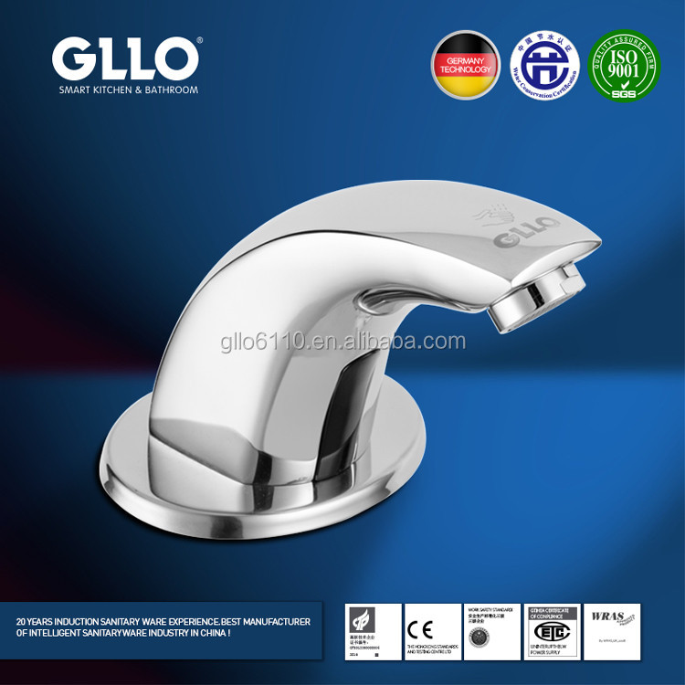 Automatic sensor water faucet for wash basin