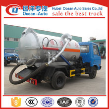 6000L vacuum sewage suction tanker truck from original factory