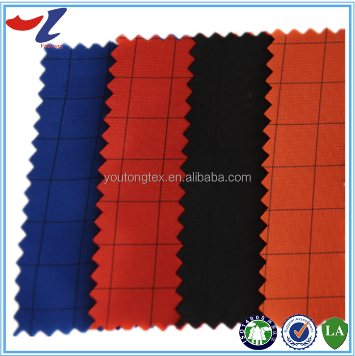 100%polyester antistatic Taffeta fabric pd pa pu waterproof coating
