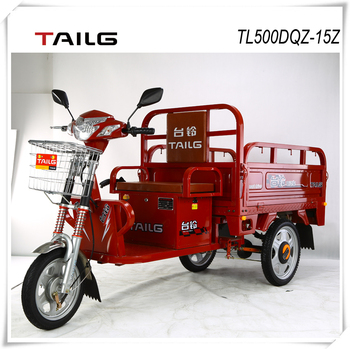 Elecric tricycle adult 650W TAILG three wheel motorcycle cargo
