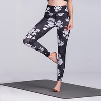 new products Elastic Women Yoga Pants gym Jogger Pants High Quality Best Sports pants