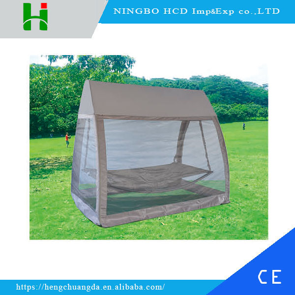 2016 Large outdoor Canopy swing bed with mosquito net