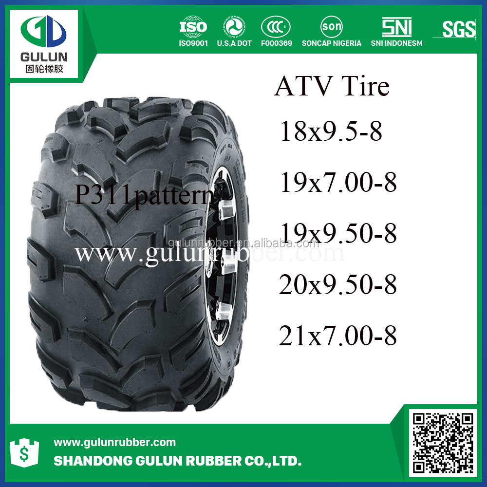 China wholesale 4x4 atv tires 18*9.5-8 19*7-8 19*9.5-8 20*9.5-8 21*7-8