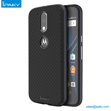 IPAKY Cell Phone Accessories Case PC with TPU Mobile Phone Cover for Motorola G4