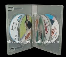 Bulk China good quality 28mm 10 discs thick dvd case dvd cases wholesale