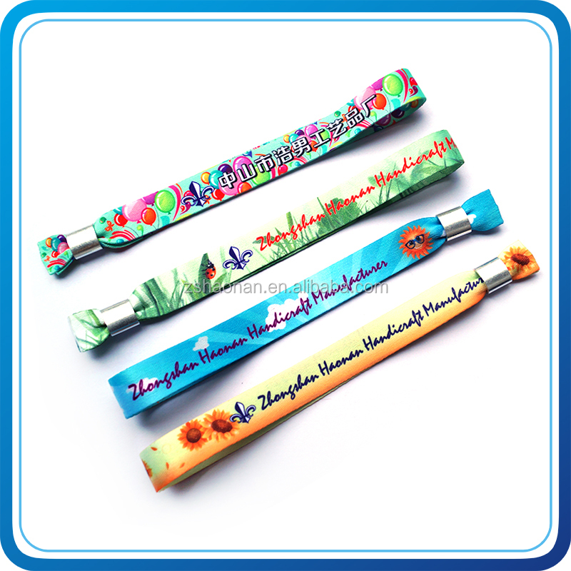 Promotional gifts DIY wrist bands logo as music novelty gifts