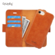 CTUNES Detachable Stand Card Slots Leather Flip Case For iPhone 6S Plus