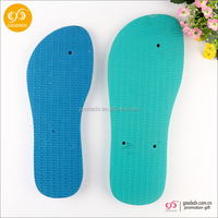 2015 Wholesale new arrival new pattern eva rubber soles for slippers