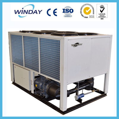 CE Certified Large Screw Cooling Capacity Air Cooled Flash Chiller For Beer