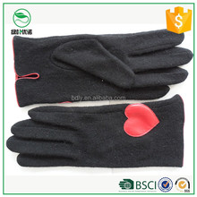 70% wool, 30% nylon lady touch screen women Woolen Gloves