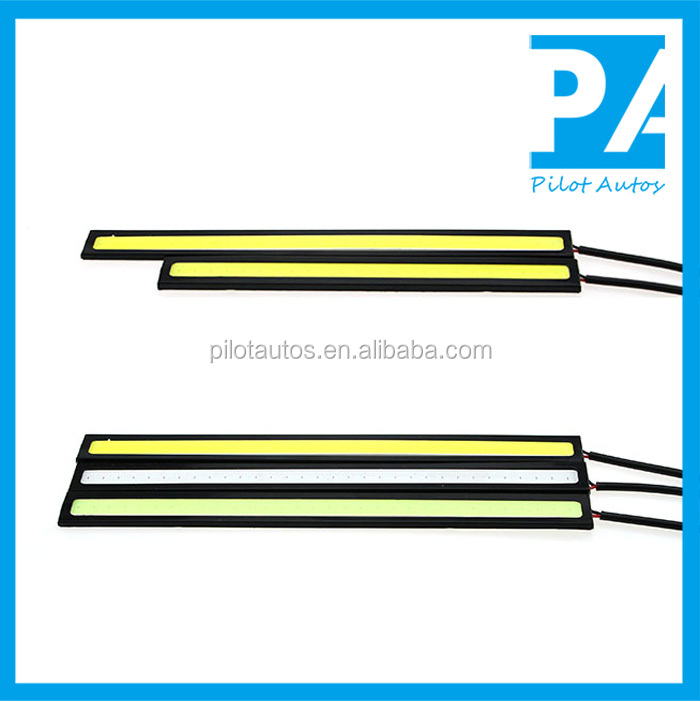 Factory Wholesale Waterproof Universal DRL COB Car Led Daytime Running Lights
