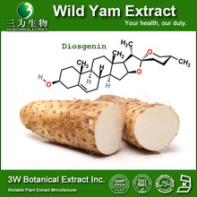Chinese Yam Extracted Powder/Herb Extract Wild Yam Extract Food&Medical Grade