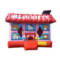 hot sale hello kitty inflatable bouncer/ bounce house/ jumping castle manufacturer China