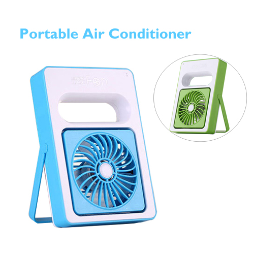 Top Selling in Alibaba Rechargeable Mini Handheld Fan, Portable Air Conditioner Cooler for Wholesale