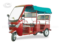 The loading passengers electric tricycle for adults