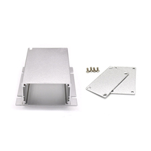 Color anodized powder coateing LED aluminium enclosure for lamps