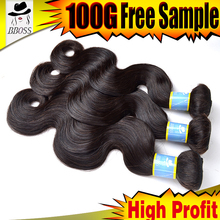 Natural grey human hair weaving the color 34 beauty,100 human hair weave brands,natural halo hair can make your own brand hair