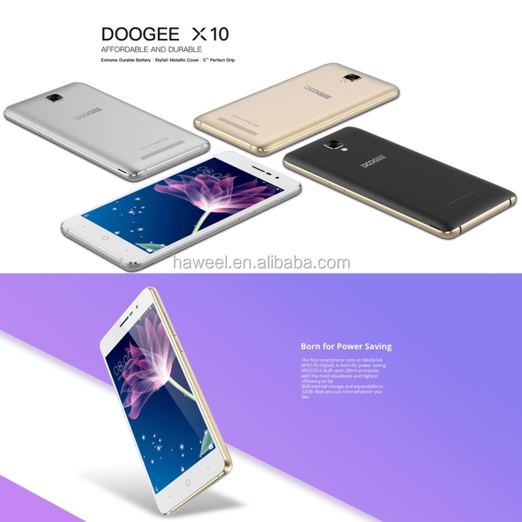 Lowest Price Smartphone DOOGEE <strong>X10</strong>, 512MB+8GB large Stock Same day shipping DOOGEE mobile <strong>phone</strong>