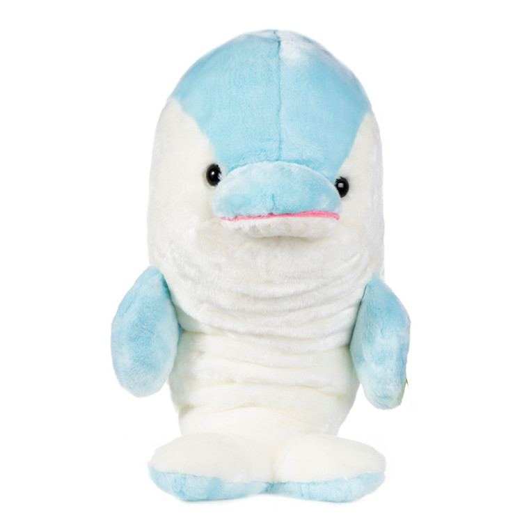Plush Stuffed Electronic LED Singing Dolphin Toy